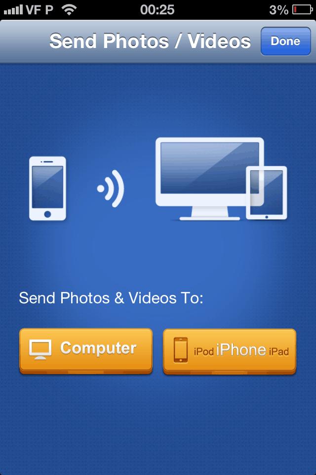 como transferir videos do iPhone para Mac