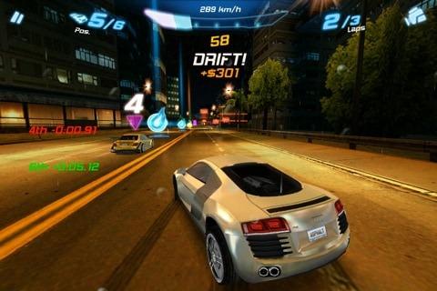 aplicativo asphalt 6 para android e ios