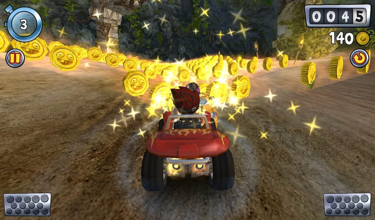 jogos de corrida para iOS beach buggy blitz
