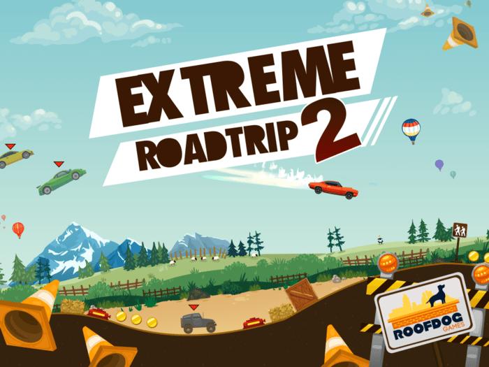 aplicativo extreme road trip 2 para iphone ipad e android