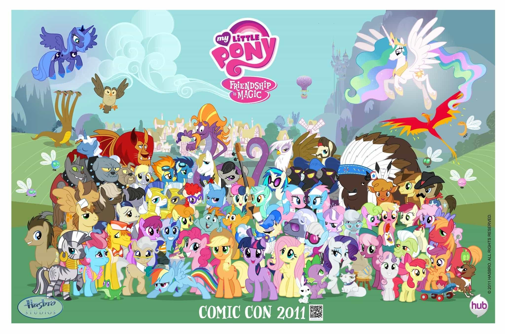 aplicativo my little pony a amizade é mágica para ios e android