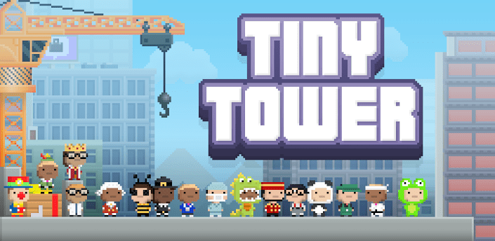 tiny tower para ios e android