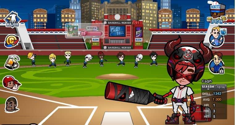 como jogar o aplicativo baseball heroes para facebook