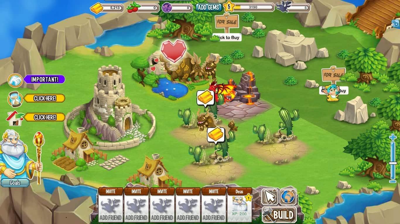 como jogar o aplicativo dragon city para facebook android e ios