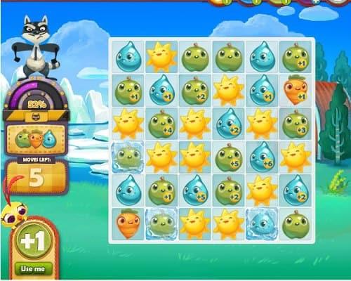 como jogar o aplicativo farm heroes saga de web para facebok