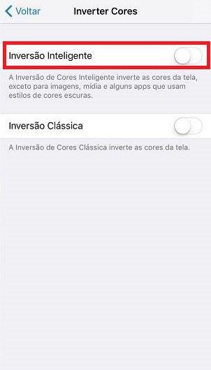truques para o iPhone inversão inteligente
