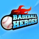 logotipo do aplicativo baseball heroes para facebook