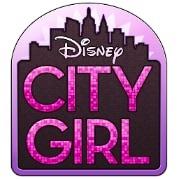 logotipo do aplicativo disney city girl para facebook
