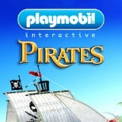 logotipo do aplicativo playmobil piratas para iphone e android