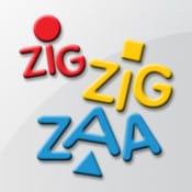 logotipo do aplicativo zig zig zaa para android e ios