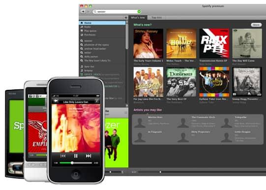 mais sobre spotify para android ios e windows pc