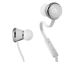 Diddybeads Headphones in White