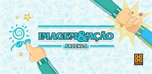 Imagem e ação multiplayer tela