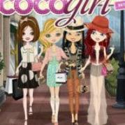 Logótipo do aplicativo coco girl para facebook