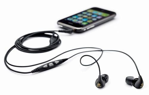 fones de ouvido para iPhone Shure SE115m+