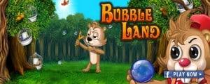 aplicativo bubble land para facebook