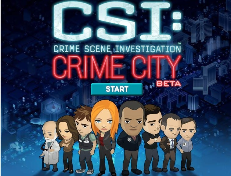 aplicativo csi crime city para facebook