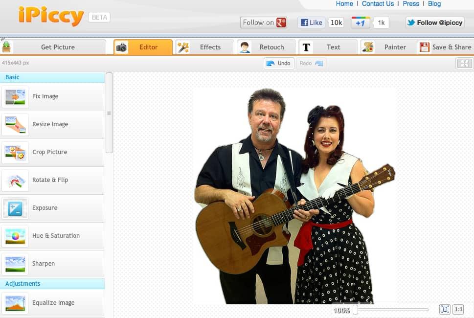 aplicativo ipiccy para web