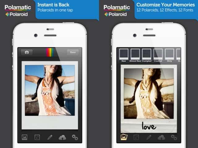 aplicativos de fotografia Polamatic