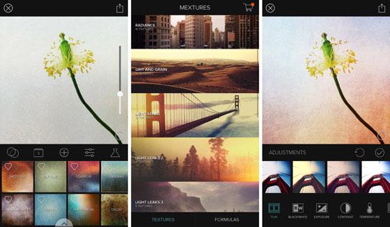 aplicativos de fotografia mextures