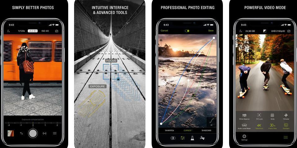 aplicativos de fotografia procamera