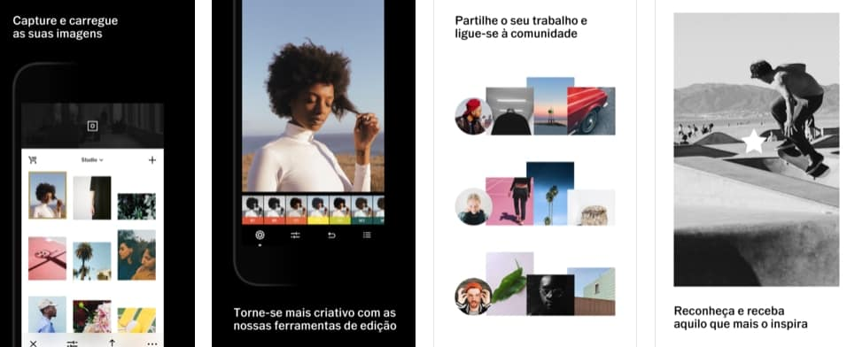 aplicativos de fotografia vsco
