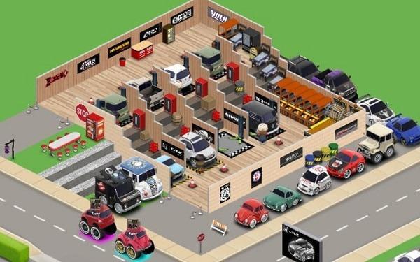 Car Town como jogar