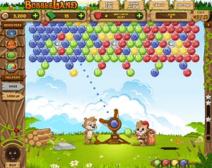 como jogar o aplicativo bubble land para facebook