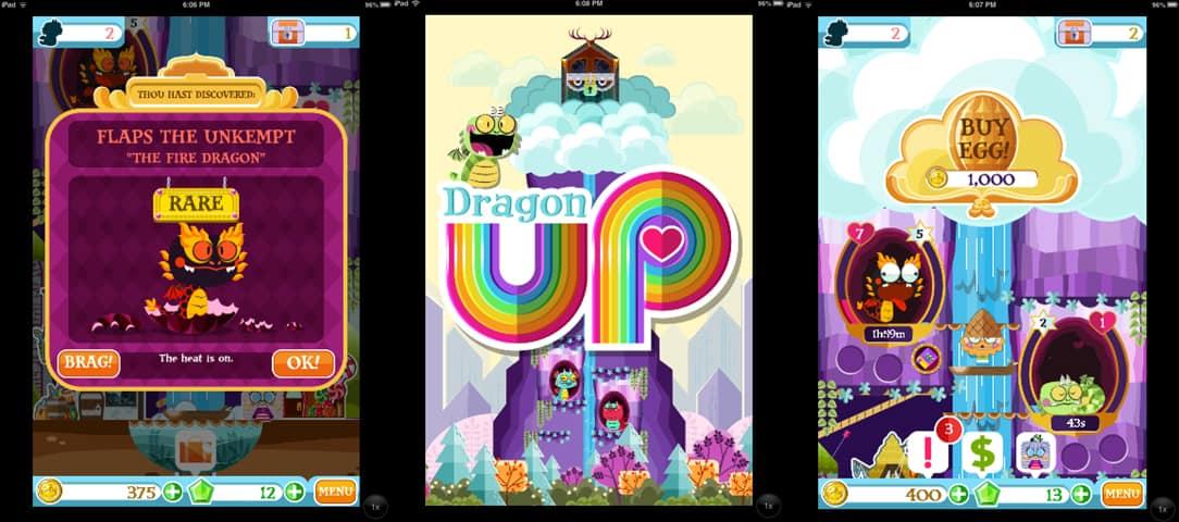 como jogar o aplicativo dragon up para ios