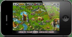 como jogar o aplicativo jurassic park builder para ios, android e facebook