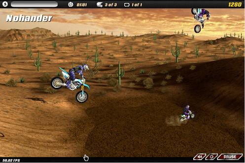 como jogar o aplicativo motocross nitro para facebook