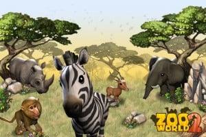 como jogar o aplicativo zoo world 2 para facebook