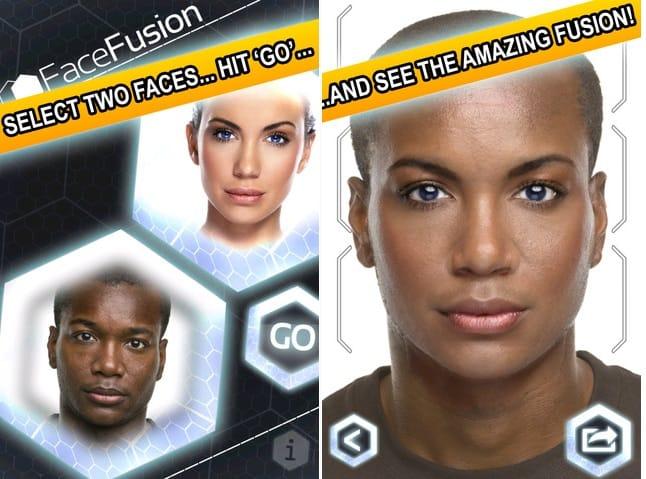como utilizar o aplicativo face fusion para android e ios