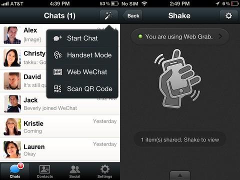 como utilizar o aplicativo wechat para android e ios