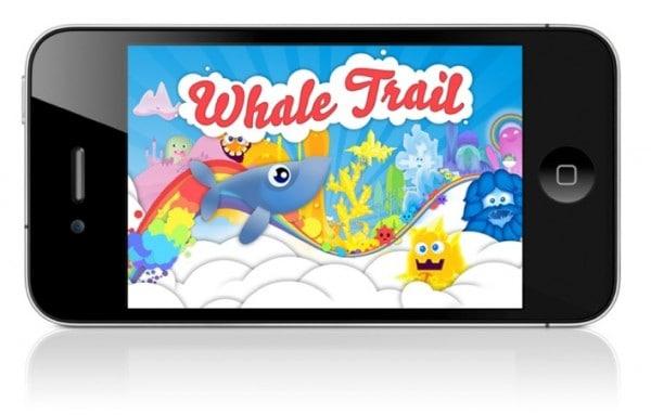 mais sobre o aplicativo whale trail para android e ios
