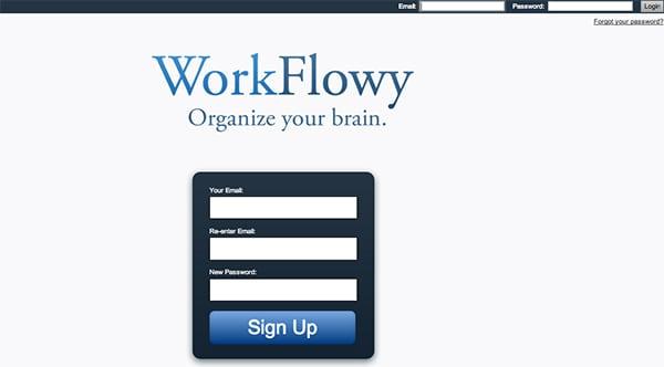 Workflowy como usar