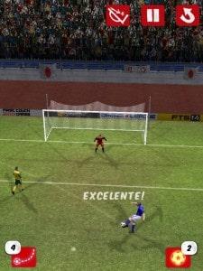 Score! World Goals - pronto para fazer o gol