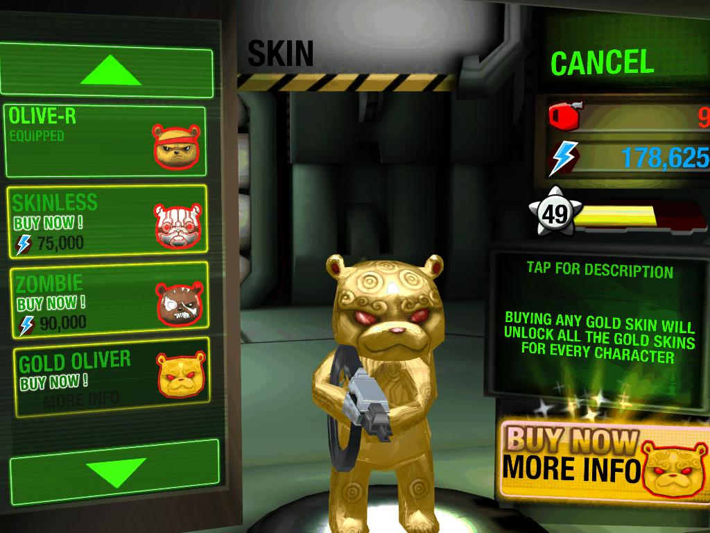 aplicativo battle bears gold para ios e android
