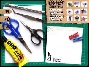 aplicativo awesome paper toys para ios