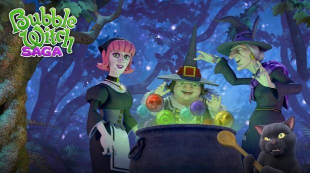 aplicativo bubble witch saga para android facebook e ios