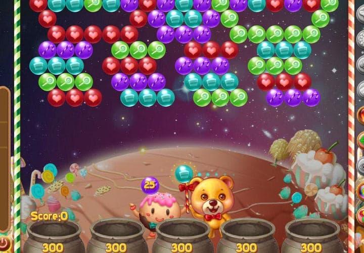 aplicativo candy planet para facebook