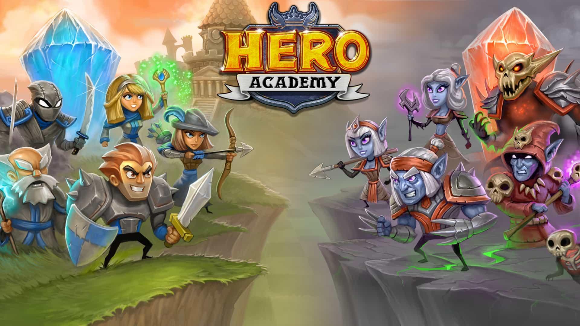aplicativo hero academy para ios