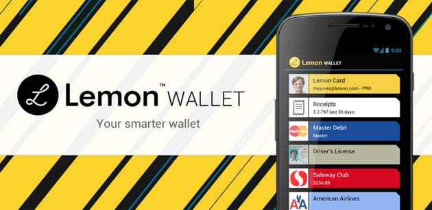 aplicativo lemon wallet para android e ios