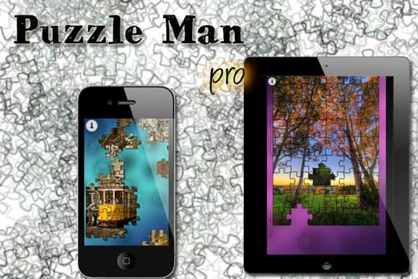 aplicativo puzzle man pro para android e ios