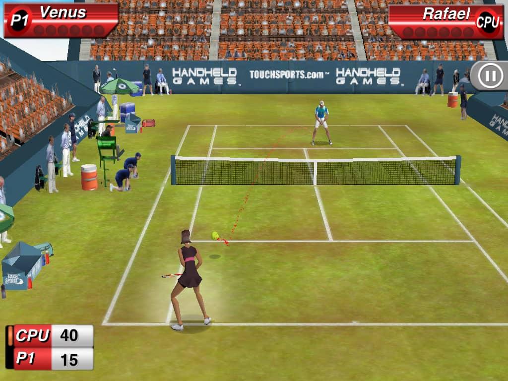 aplicativo touchsports tennis para android e ios