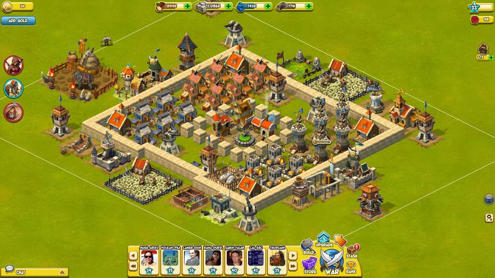 aplicativo war of mercenaries para facebook