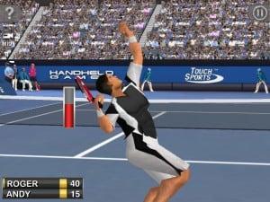 como jogar o aplicativo touchsports tennis para android e ios