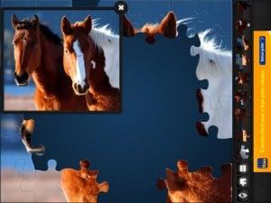 O Quebra-cabeça Mágico para iPad