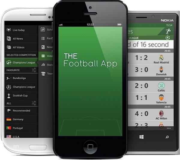 The Football App para iPhone