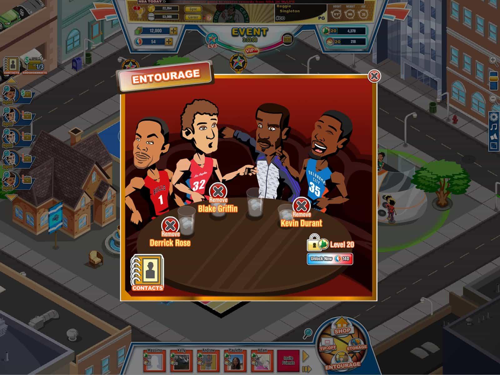 NBA 2K MyLife para Facebook